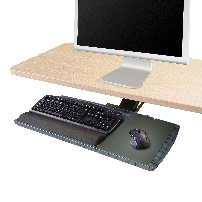 Kensington Underdesk Adjustable Keyboard Platform with Wrist Rest (K60067) KMW60067