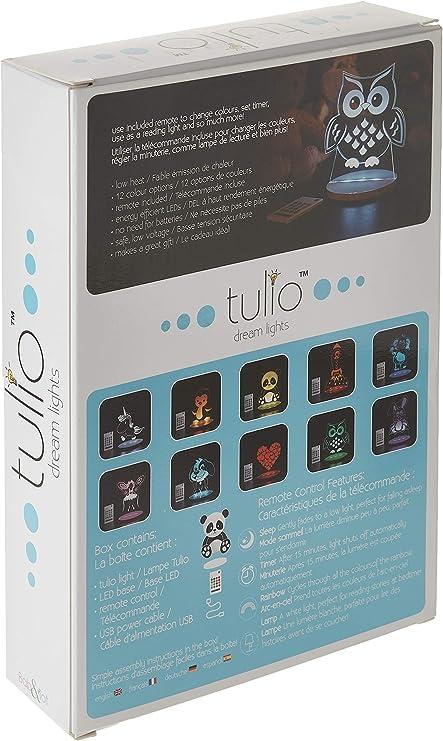 Tulio Dream Lights Ballerina Fairy Multi-Use Multi-Color Night Light CJM Kids Inc TUL1003