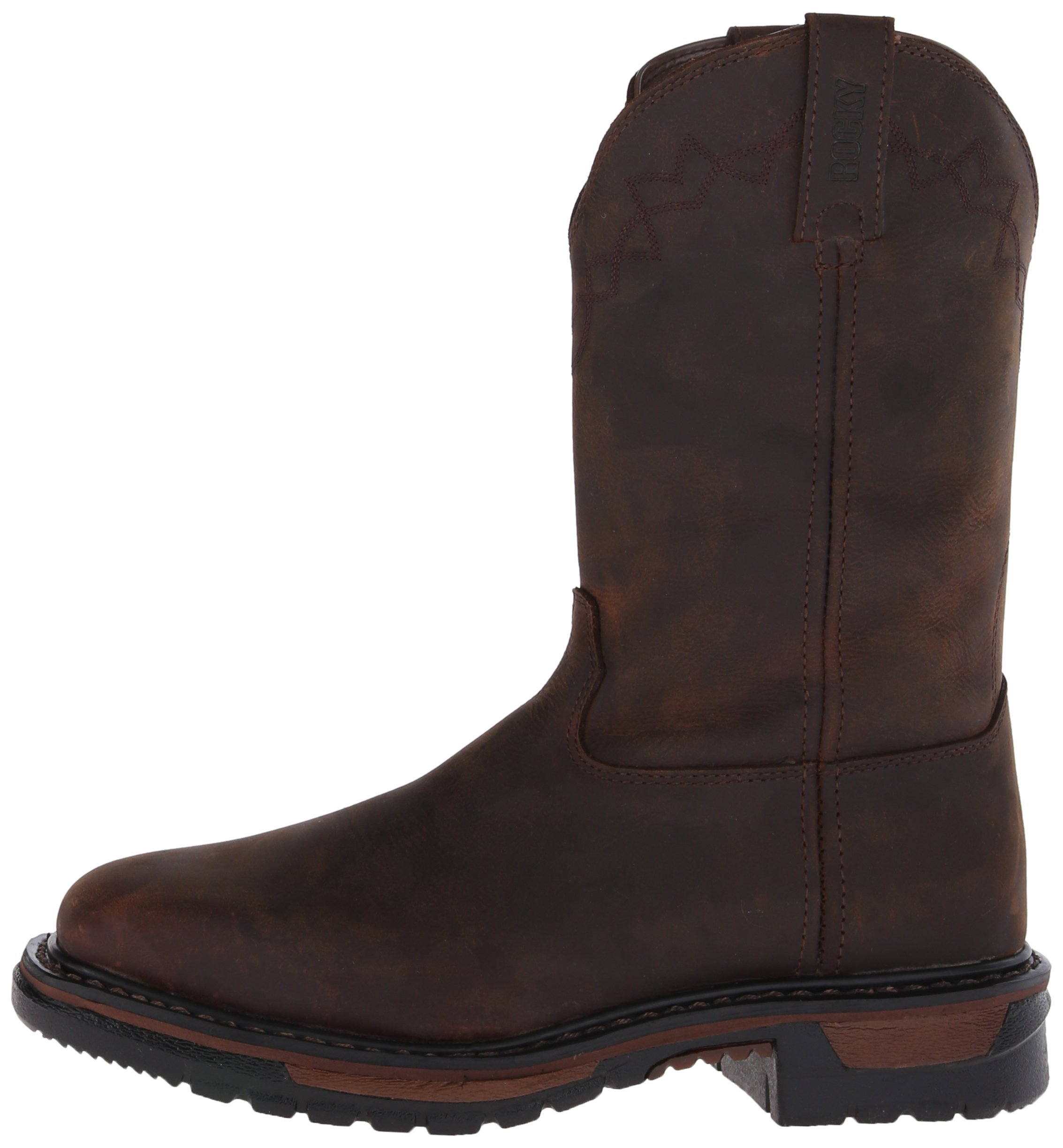 Rocky Men's RKW0117 Boot, Dark Brown, 10 M US by Rocky (Image #5)