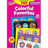 Trend Enterprises T6481 Stinky Stickers Fun and Fancy Value Pack - 1 inch - Pack of 300