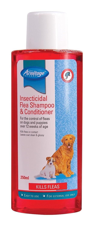 Armitage Shampooing pour chien puces Shampooing et revitalisant insecticides, 250ml Armitages 4571