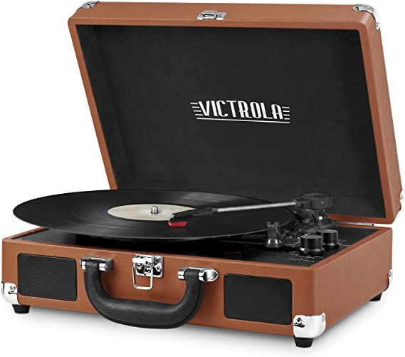 Bluetooth Portable Record Player