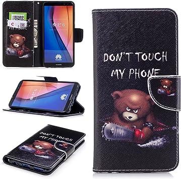Carcasa para móvil Cowx, para Huawei Mate 10 Lite, de piel ...