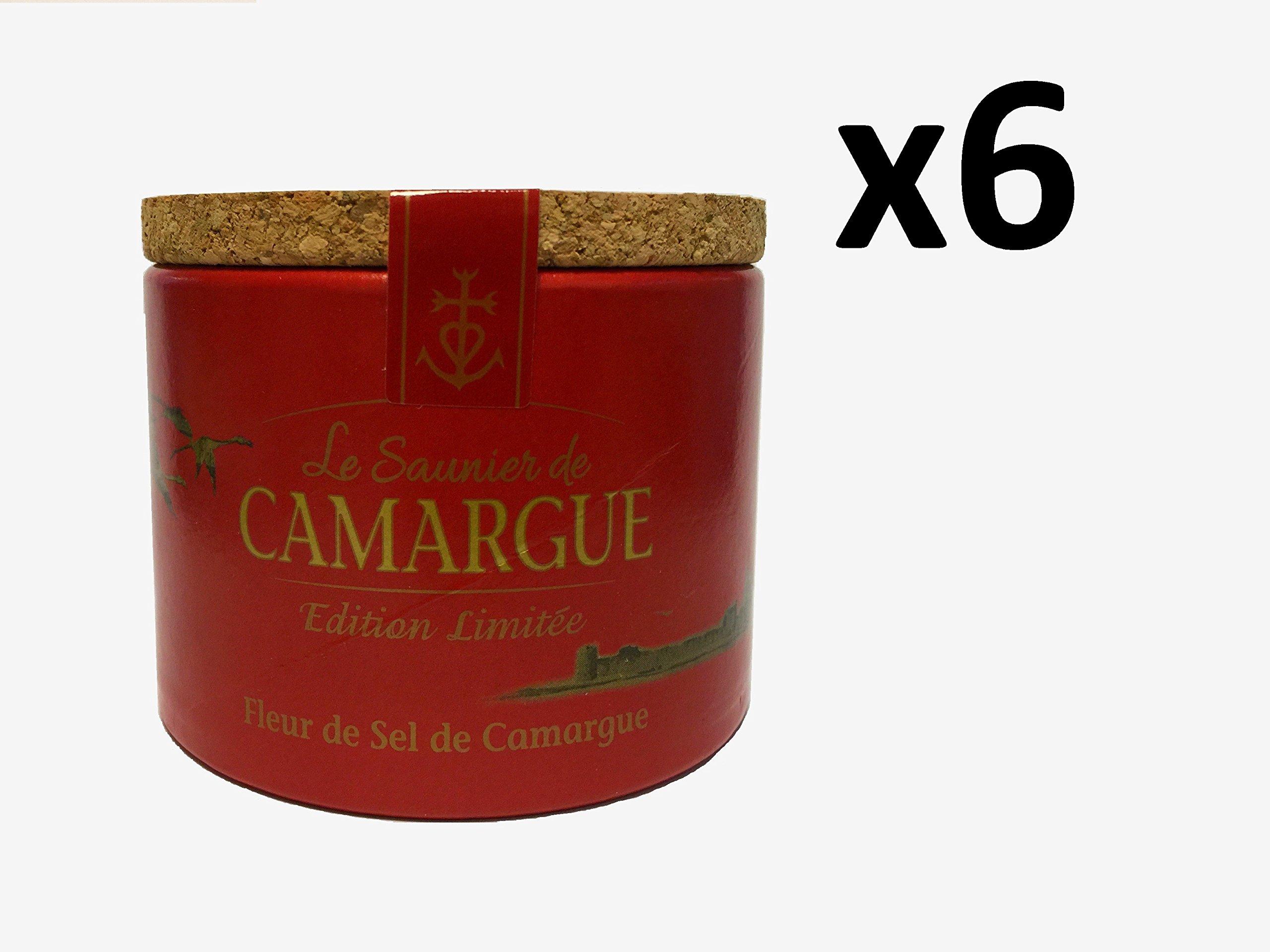 Le Saunier De Camargue Special Edition Fleur De Sel Sea Salt (x6)