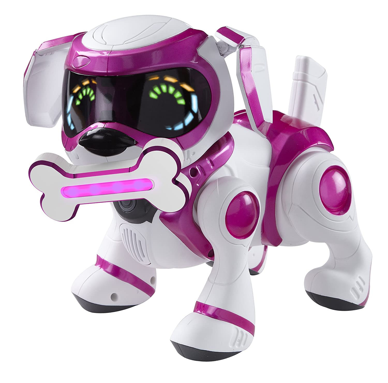 Teksta Robotic Puppy Pink Amazon Toys & Games