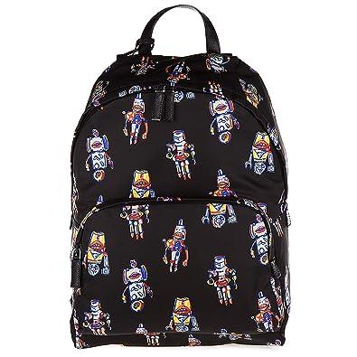 b9ffb65795d2 Prada men s Nylon rucksack backpack travel robot black  Amazon.co.uk  Shoes    Bags
