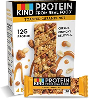 product image for KIND Protein Bars, Toasted Caramel Nut, Gluten Free, 12g Protein,1.76oz, 24 count