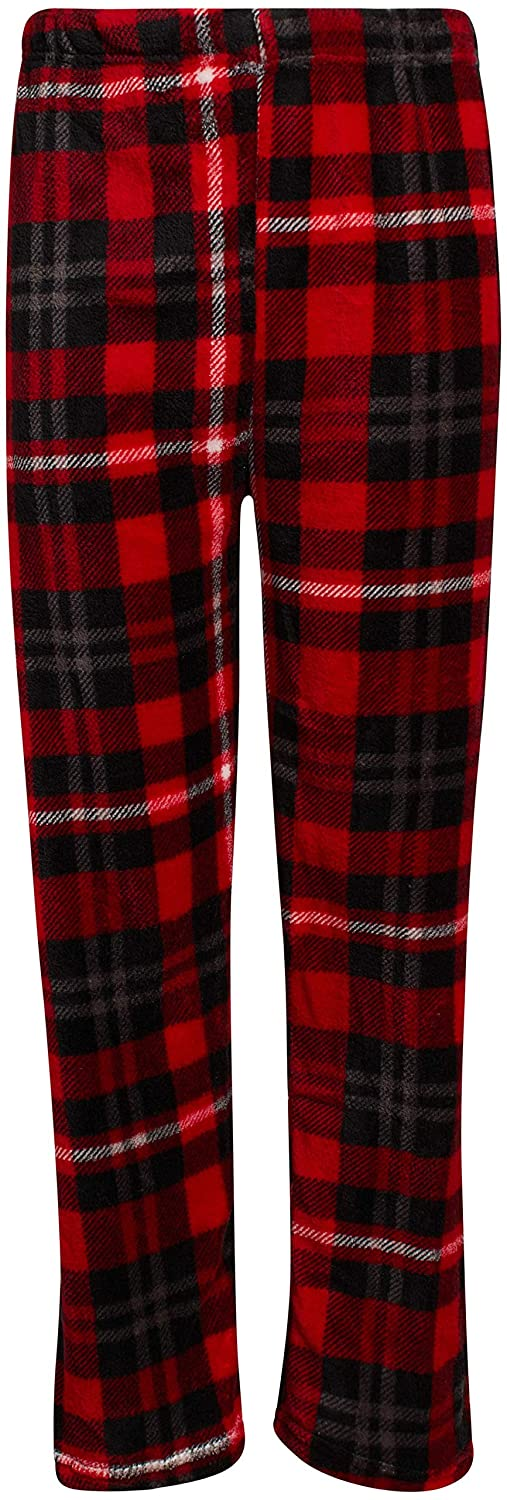 2 Pack Beverly Hills Polo Club Boys Coral Fleece Lounge Pajama Pants