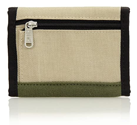 27ca35043826 Amazon.co.jp: (チャムス) CHUMS Trifold Wallet Sweat Nylon ( トリフォルド ウォレット) CH60- 0696 Camper Green/Beige: 服&ファッション小物