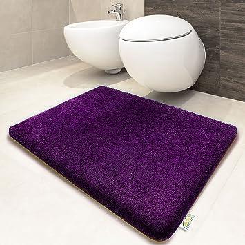 sky badematte uni lila öko tex 100 zertifiziert verschiedene