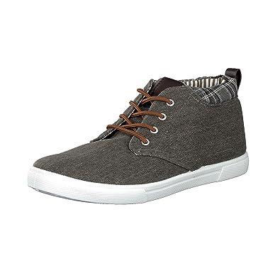 brandsseller - Zapatos de cordones de Material Sintético para hombre, color azul, talla 43 EU