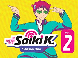 Amazon com: Watch The Disastrous Life of Saiki K, Season 1