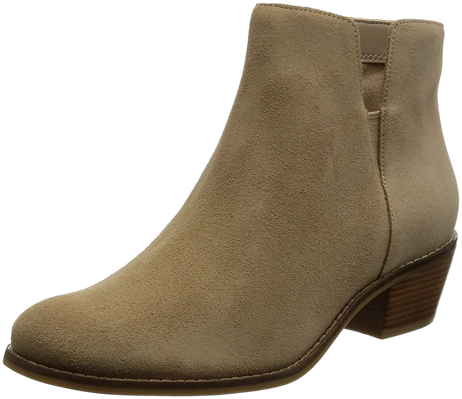 Cole Haan Women's Abbot Ankle Boot B00QRLFE52 6 B(M) US|Cremini Suede