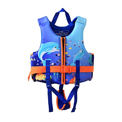 e88989d1acee5 Life Jackets Vests For Children Kids Youth Boys Girls Swim Swimming Surfing  Boating Fishing Kayaking Floating