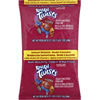 Kool Aid Blast Berry Cherry Drink Mix, Makes 2 Gallons (21.1 oz Bags, Pack of 5)
