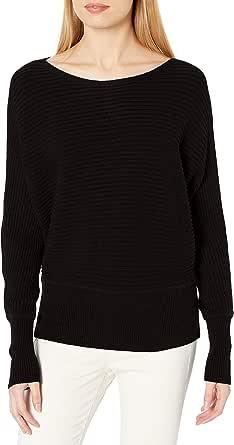 Amazon Brand - Daily Ritual Women's Ultra-Soft Horizonal Knit Dolman Sweater