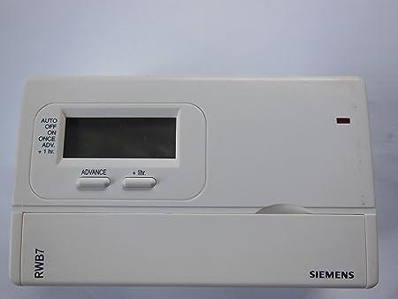 siemens rwb7 heating programmer amazon co uk diy tools rh amazon co uk Instruction Manual Book siemens rwb7 user guide
