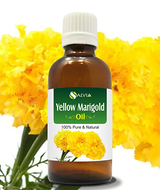 YELLOW MARIGOLD OIL 100% NATURAL PURE UNDILUTED UNCUT ESSENTIAL OIL 15ML