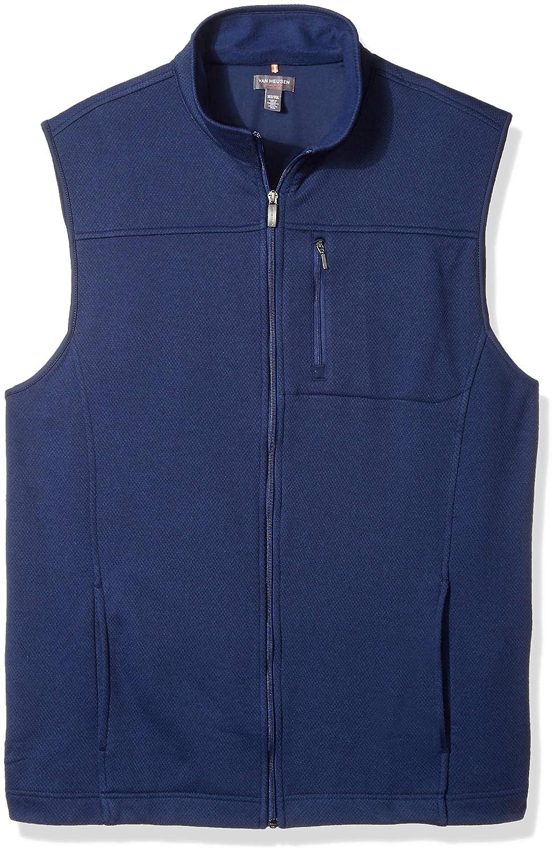Van Heusen Men's Big and Tall Traveler Solid Full Zip Vest, 50W7039