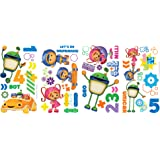 RoomMates RMK1916SCS Team Umizoomi Peel and Stick Wall Decals