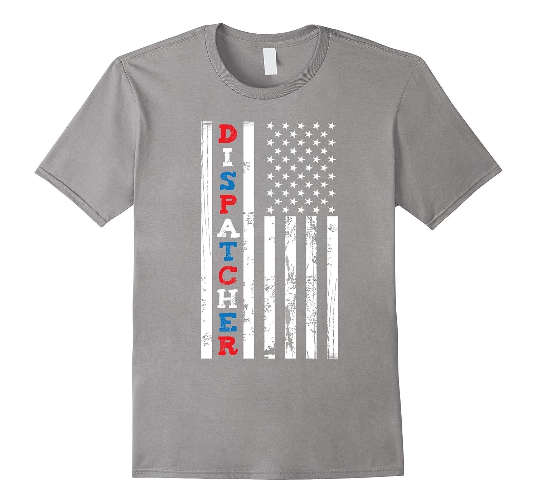 EMS Dispatch American Flag Shirt For EMS Week