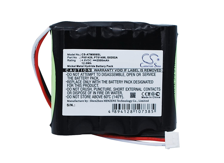 Cameron Sino 2500mAh/12,0wh batería de repuesto para ANRITSU MT9090A 0wh batería de repuesto para ANRITSU MT9090A CS-ATM909SL_0002