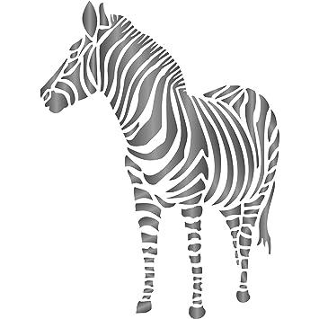 Plantilla de cebra - Plantillas reutilizables de animales africanos ...