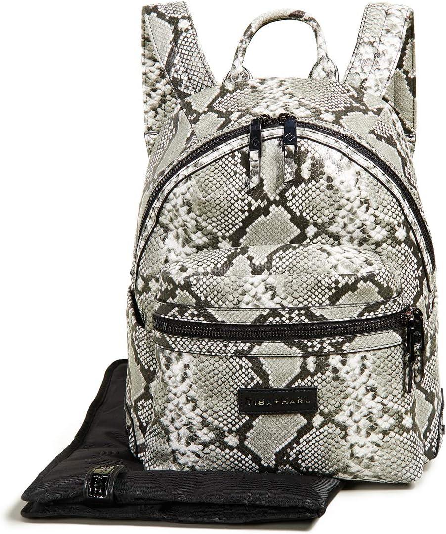 MARL Womens Miller Diaper Backpack TIBA One Size Snake Print