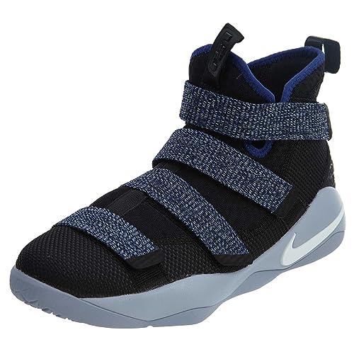 a3c4430d040c Nike Kids  Grade School Lebron Soldier Xi Basketball Shoes (5.5 ...