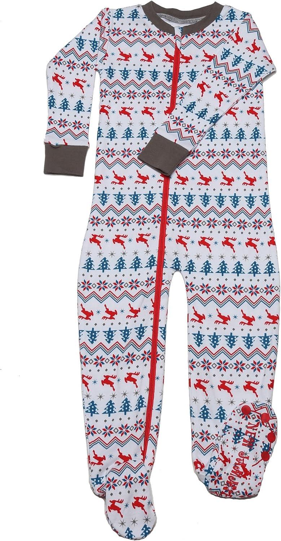 New Jammies Organic Cotton Footie Pajamas