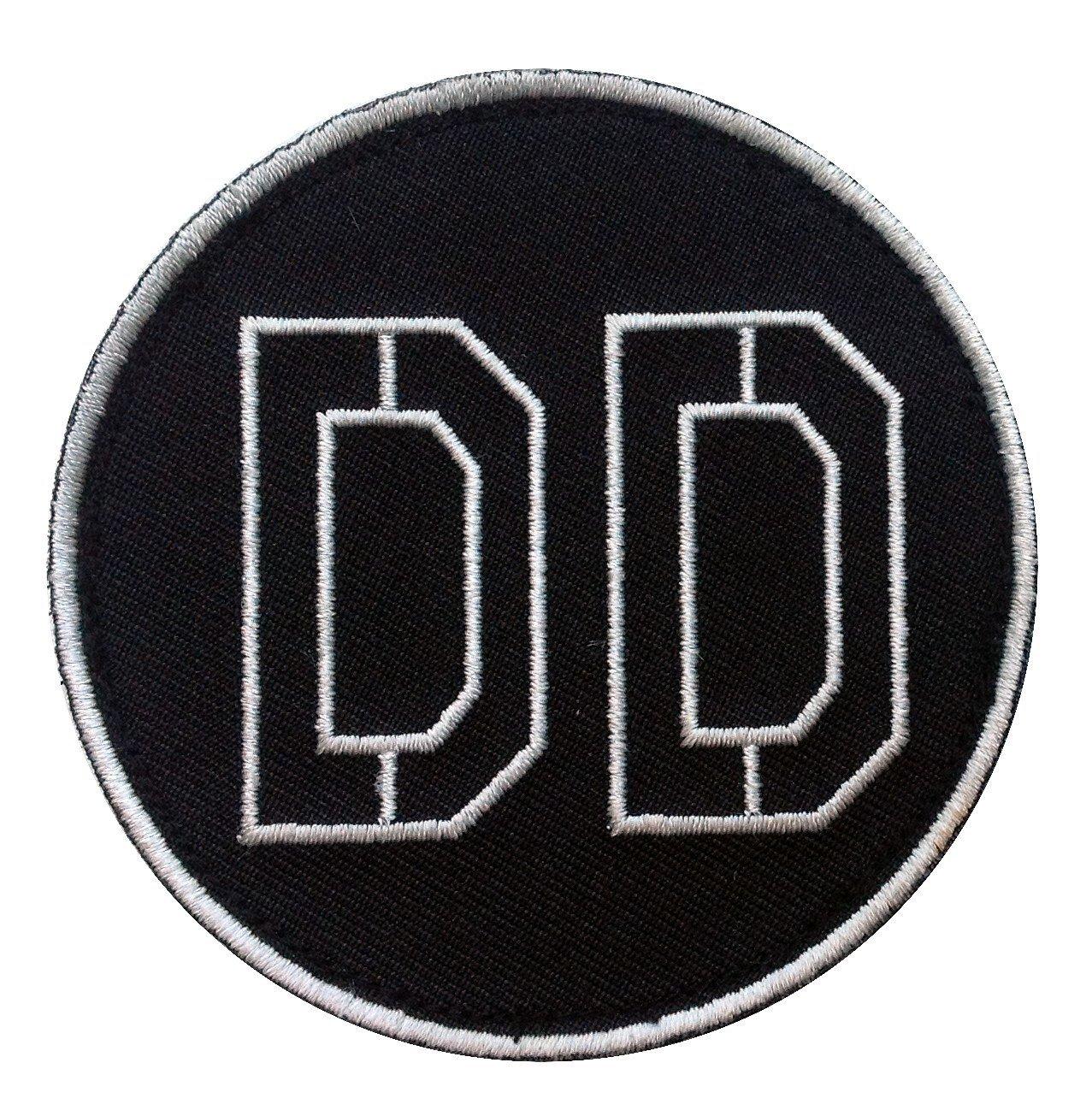 DD Diamond Dogs Metal Gear Shoulder Iron On Patch Taktisch Aufn/äher Aufb/ügler Von Titan One Europe