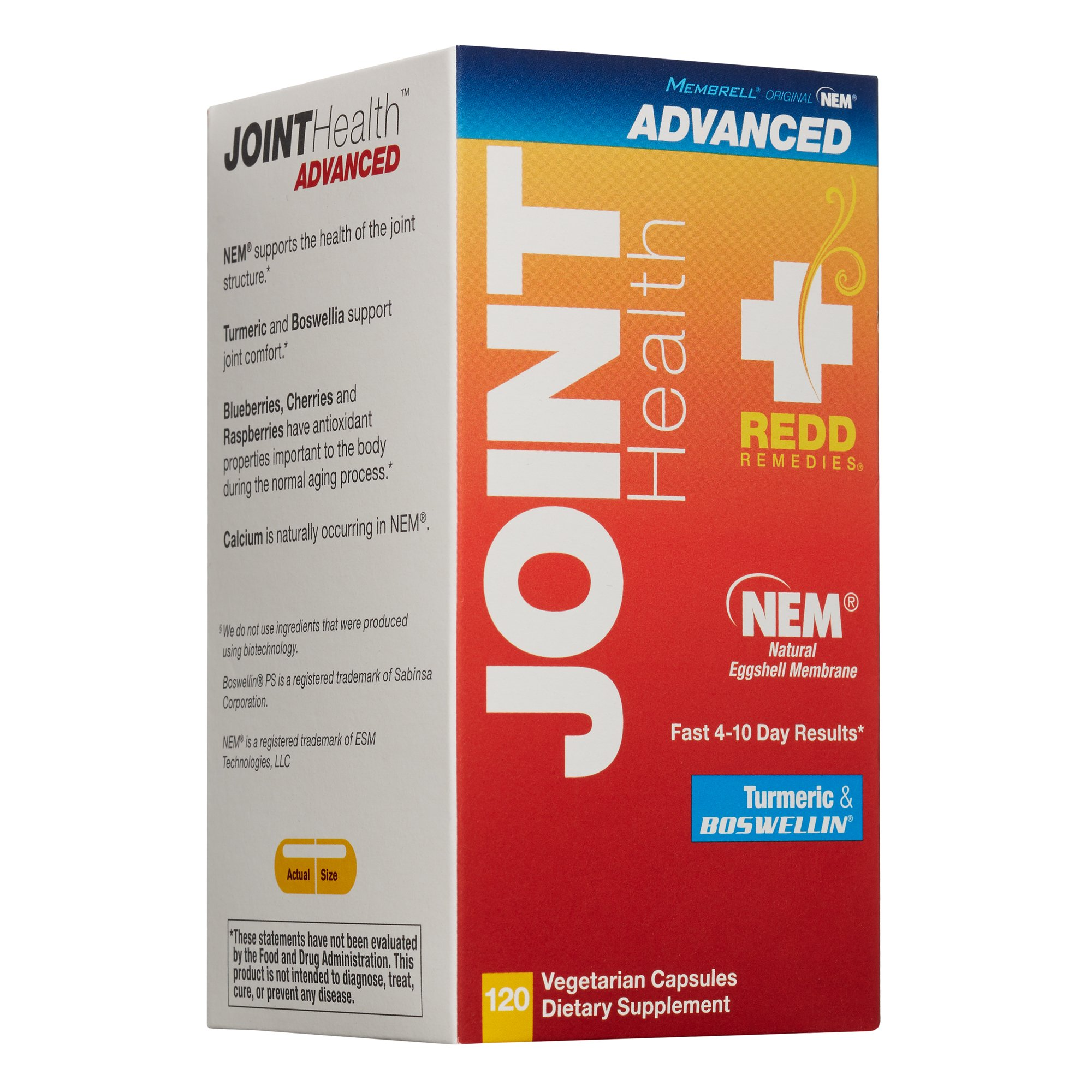 Redd Remedies - Joint Health Advanced, Helps Strengthen Connective Tissue and Cartilage, 120 count by Redd Remedies