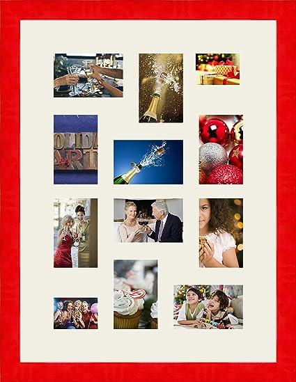 RK Photo Frames Marcos de la foto multivues Gris plata 4 foto(s ...