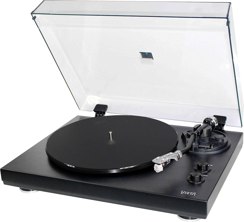Vieta VH-TT600BK - Giradiscos Hi-Fi, Color Negro: Amazon.es ...