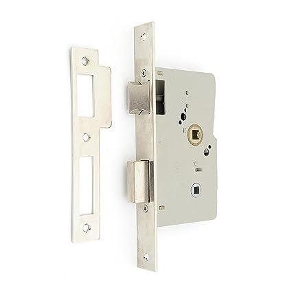 Tesa Assa Abloy, 201450HN, Cerradura de embutir para puertas de madera, Condena,