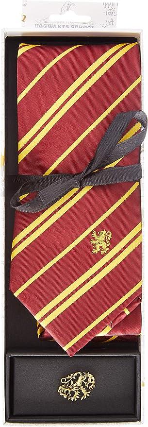 Cinereplicas - Harry Potter - Corbata con Broche - Edición Deluxe ...
