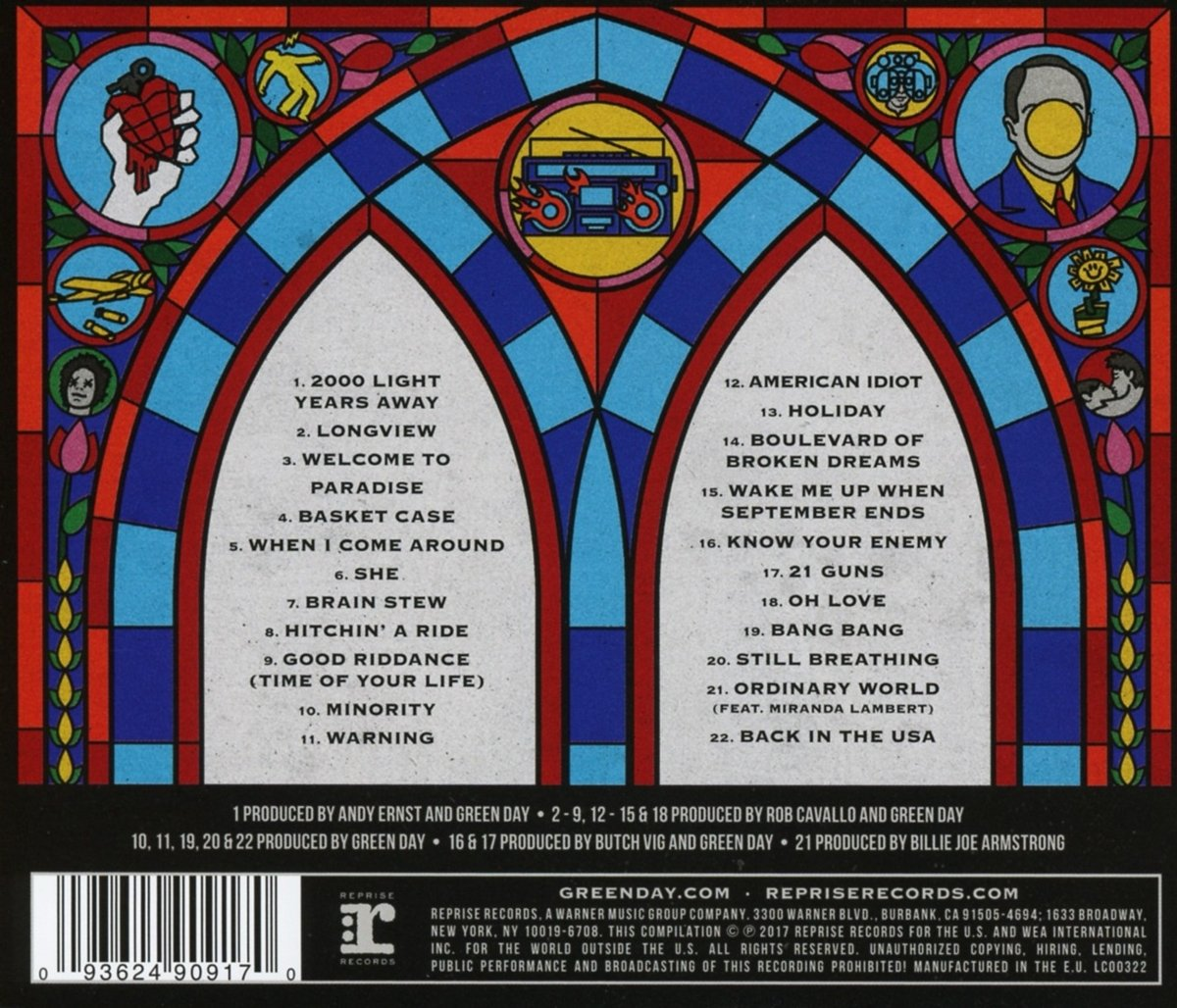 Green Day Greatest Hits God S Favorite Band Explicit Amazon