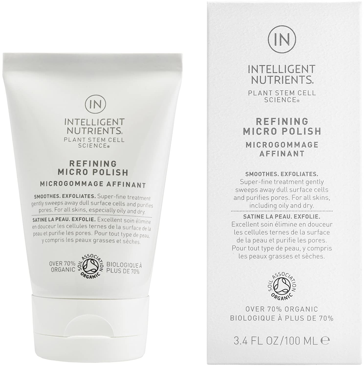 Intelligent Nutrients - Refining Micro Polish for All Skin Types, 3.4oz