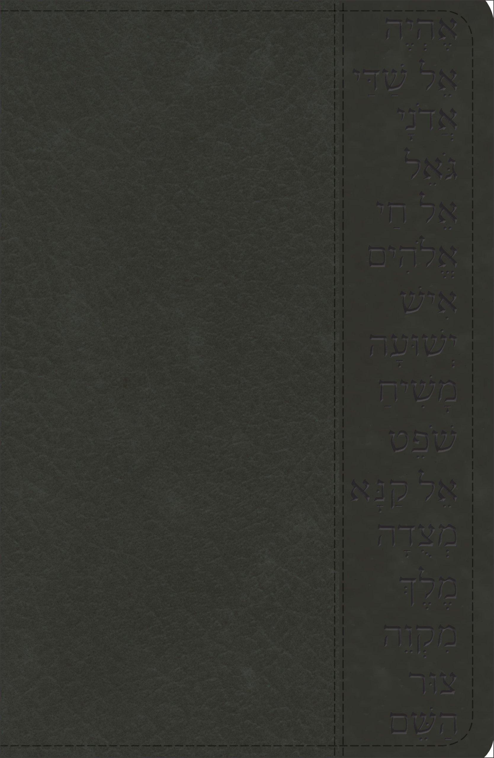 Download KJV Names of God Bible Black, Hebrew Name Design Duravella ebook