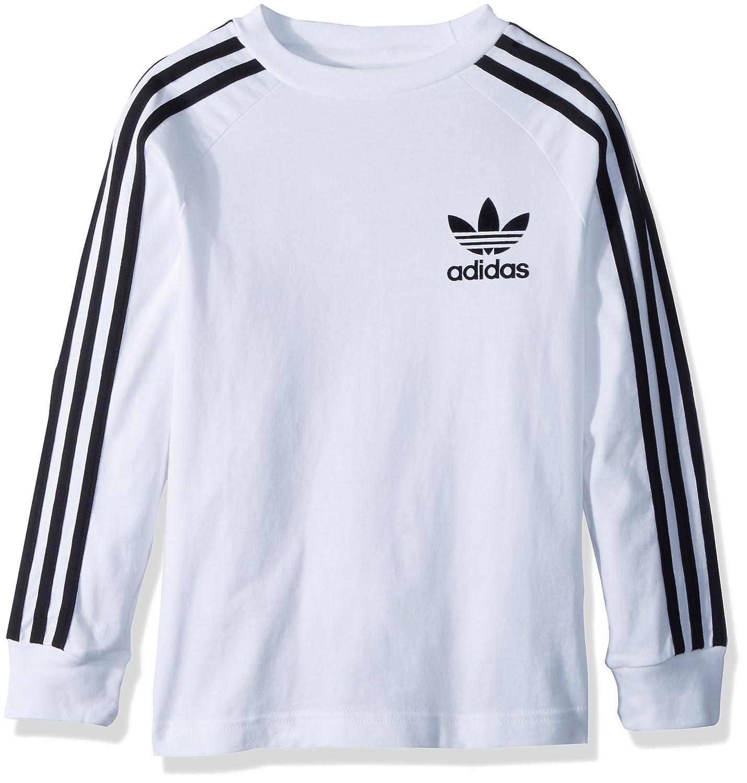 13291b5f8 Amazon.com  adidas Originals Boys  Big Originals California Long Sleeve  Tee  Clothing