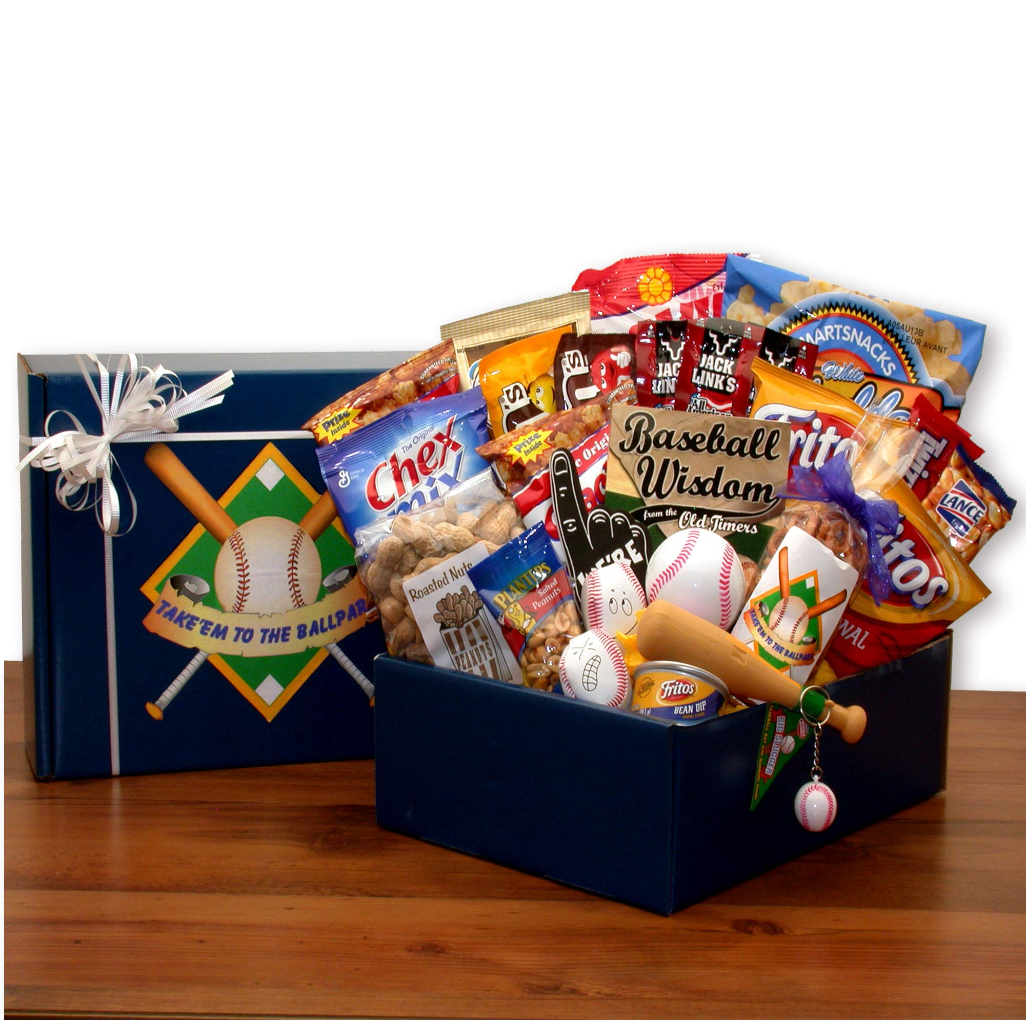 Baseball Fanatic! Baseball Themed Gift Basket