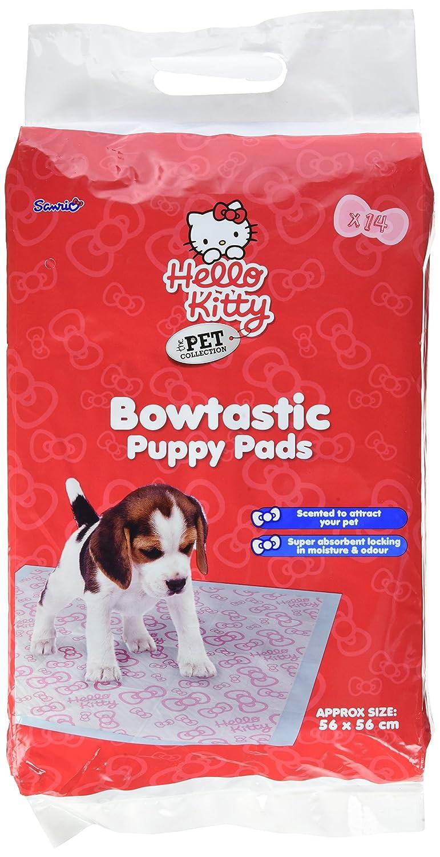 Hello Kitty Bowtastic Tapis d'apprentissage de la propreté pour chiot Pet Brands HK39