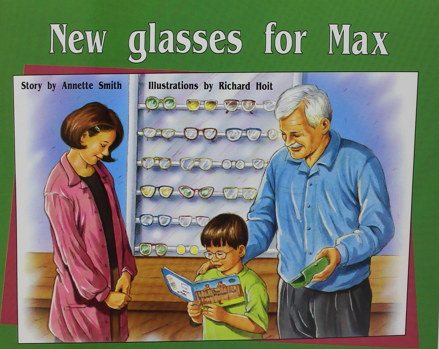 Read Online Rigby PM Plus: Individual Student Edition Green (Levels 12-14) New Glasses For Max PDF