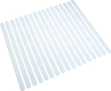 Tiras antideslizantes para escaleras, cinta antideslizante transparente. Escaleras antideslizantes autoadhesivas Escalones antideslizantes.: Amazon.es: Bricolaje y herramientas