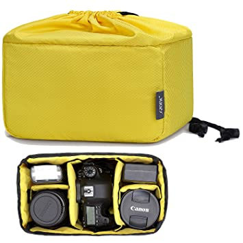 S-ZONE - Bolsa para cámara réflex DSLR SLR (Acolchada, para ...