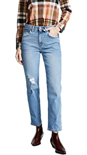 5221fbd4 Wrangler Women's High Rise Boyfriend Jeans, Denver, 27 at Amazon ...