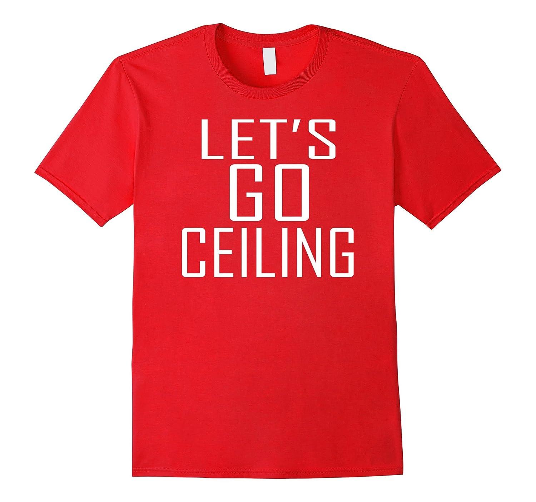 Let's Go Ceiling Fan Halloween Costume T-shirt-FL