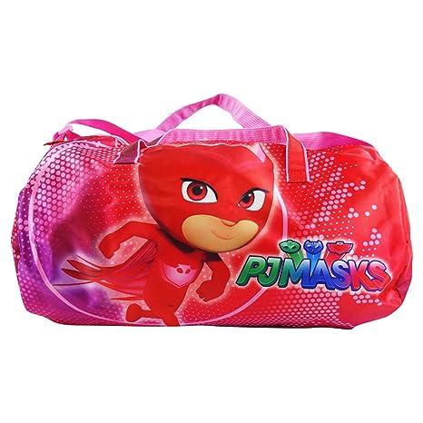 PJ Masks Owlette Bolso Sport Bolso al Hombro Viaje Gimnasia