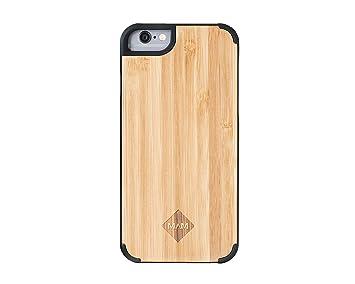 MAM Originals · Plain Bamboo | Carcasa de iPhone 6 Plus | Carcasa de madera de