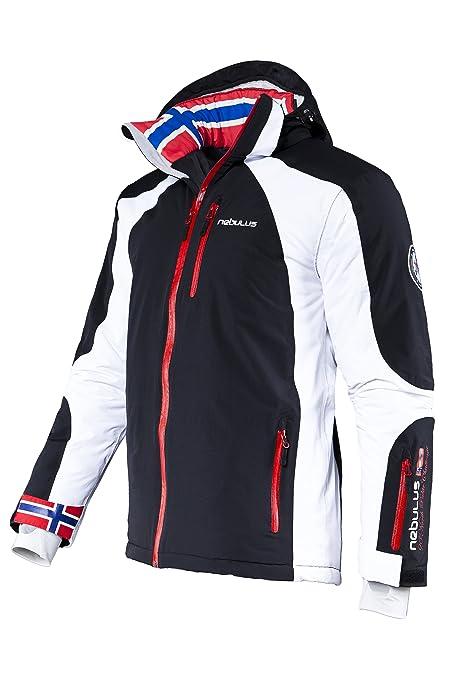 nouveau style cafa7 c29cb Nebulus Davos Veste de ski Homme